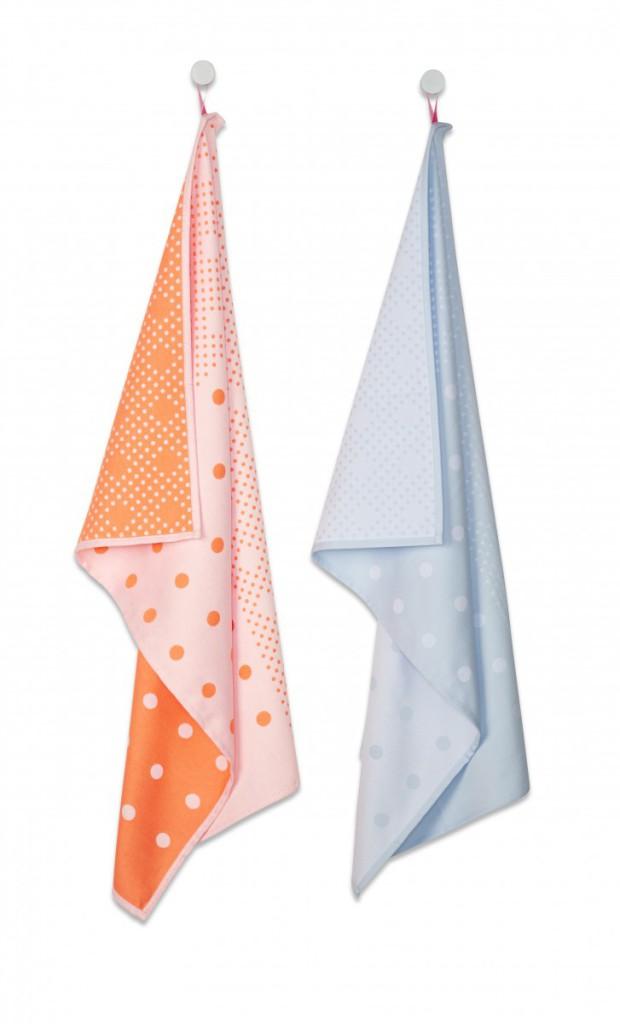 Tea Towels big dots