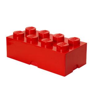 LEGO Storage Brick rouge
