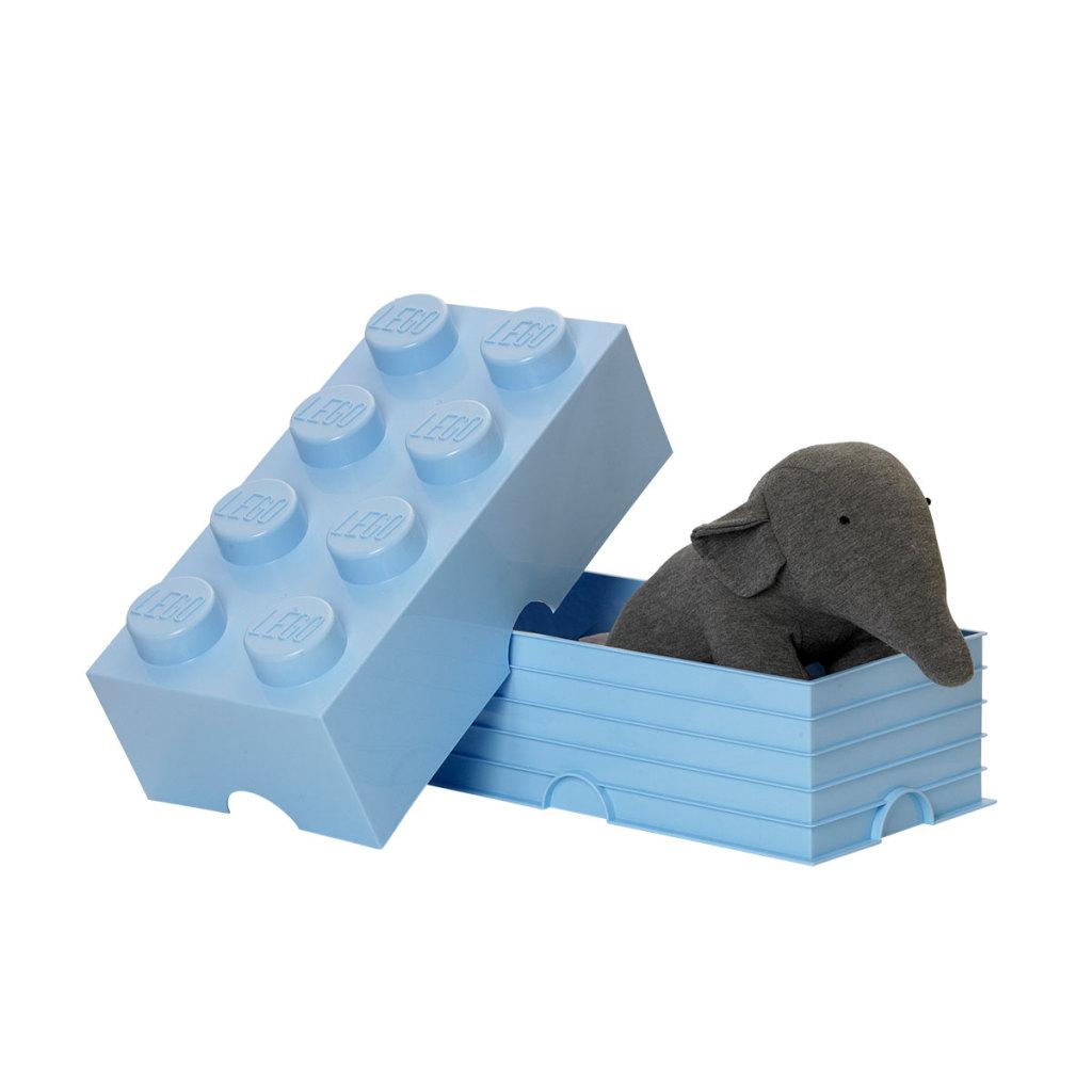LEGO Storage Brick bleu