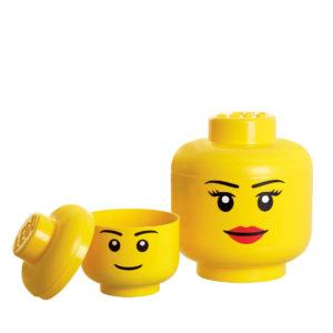 LEGO Storage Brick head