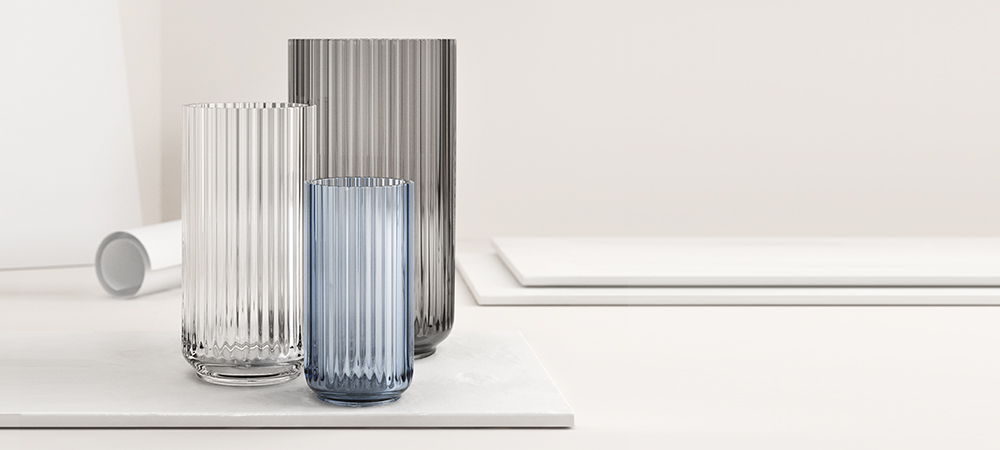 Lyngby vasen glas