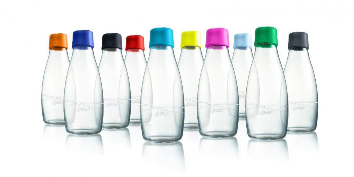 Retap la bouteille d eau cologique tr s tendance - Petite bouteille en verre ikea ...