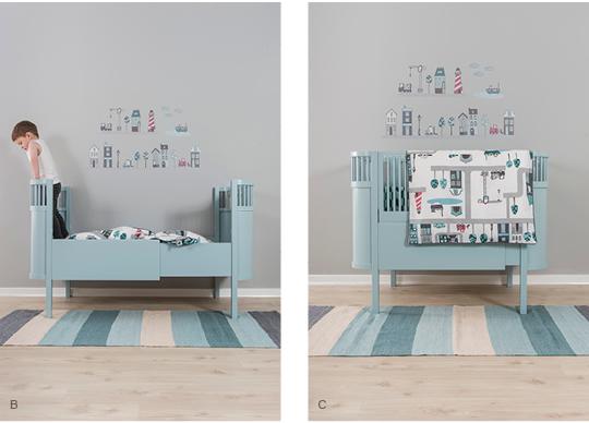kili le lit qui grandit avec l enfant. Black Bedroom Furniture Sets. Home Design Ideas