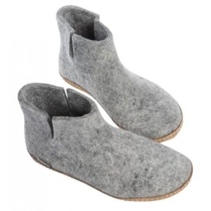 G 01 Glerups chaussons botines gris clair