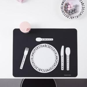 Set de table Design Letters