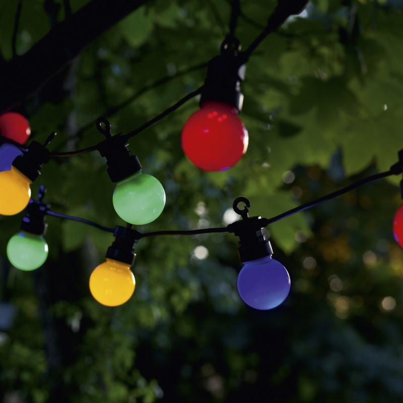 Guirlande lumineuse 10 ledmulticouleurslucas sirius - Petite guirlande lumineuse led ...