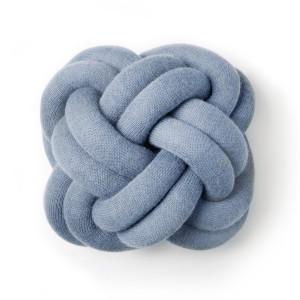 Knot cushion bleu - Design House Stockholm