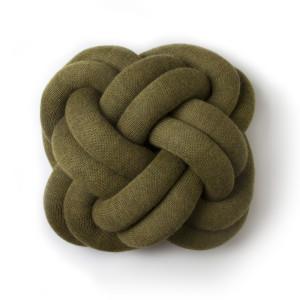 Knot cushion vert - Design House Stockholm