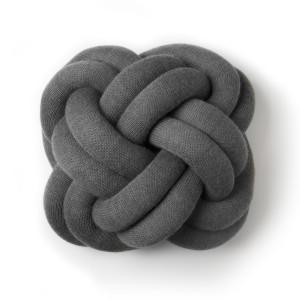 Knot Coussin gris - Design House stockholm
