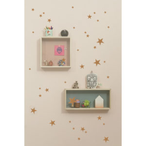 Mini star wall stickers Ferm Living