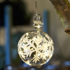 73050 Snowflake Ball 7,5