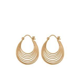 Pernille Corydon boucles d'oreilles silhouette e-570