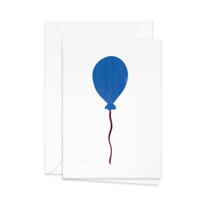 Pretty Paper Ballon Bleu GC44