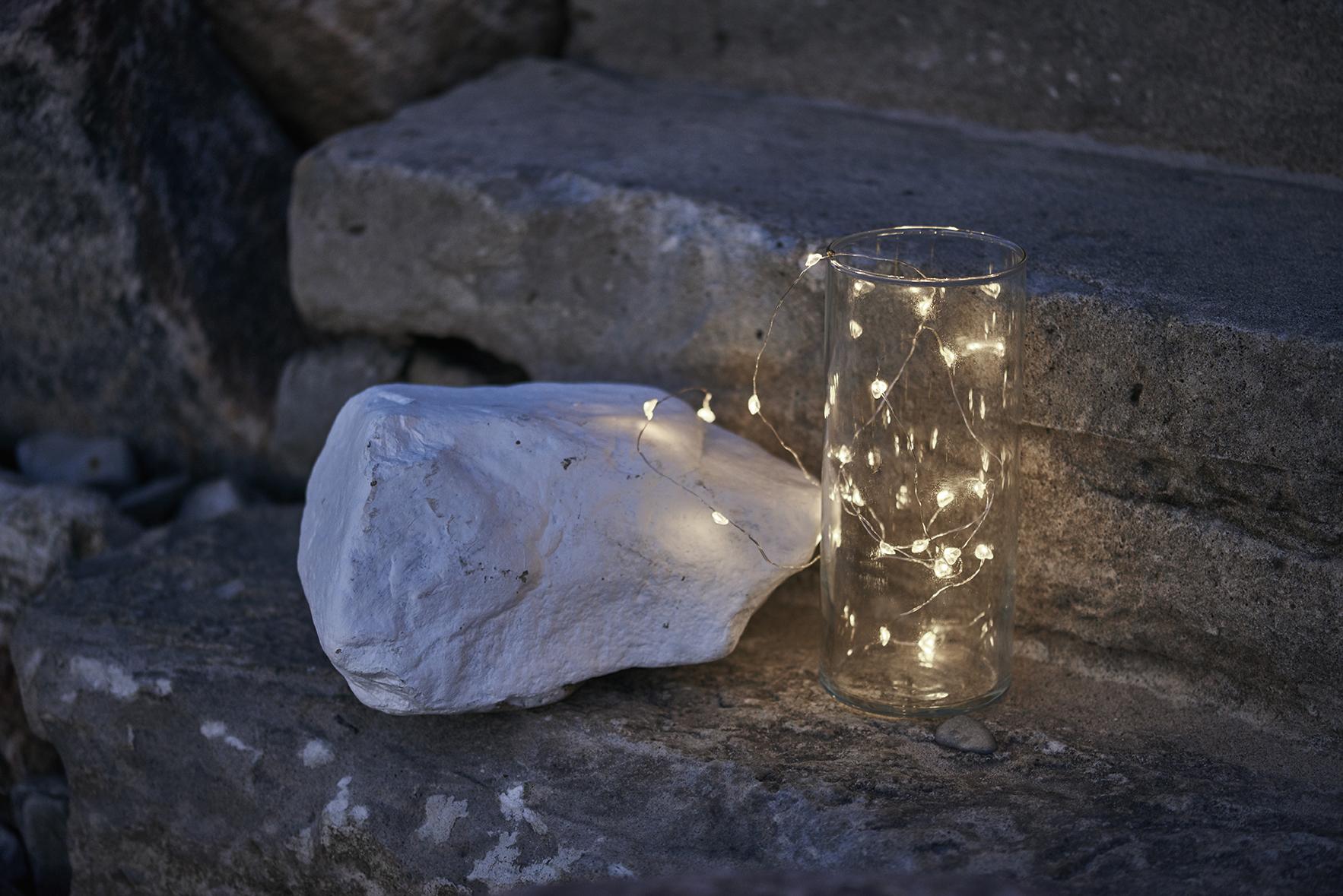 Guirlande lumineuse 20 ledpetits c ursl rke sirius - Petite guirlande lumineuse led ...