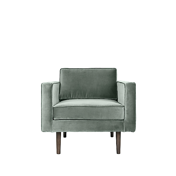 fauteuil velourswind vert d eaubroste copenhagen la. Black Bedroom Furniture Sets. Home Design Ideas