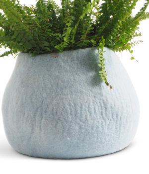 Flower pot - Aveva design - Arctic blue - 1381